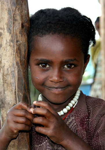 Doyo village girl, Oromiya, Ethiopia.