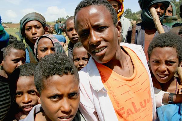 Zefie village, Amhara, Ethiopia.