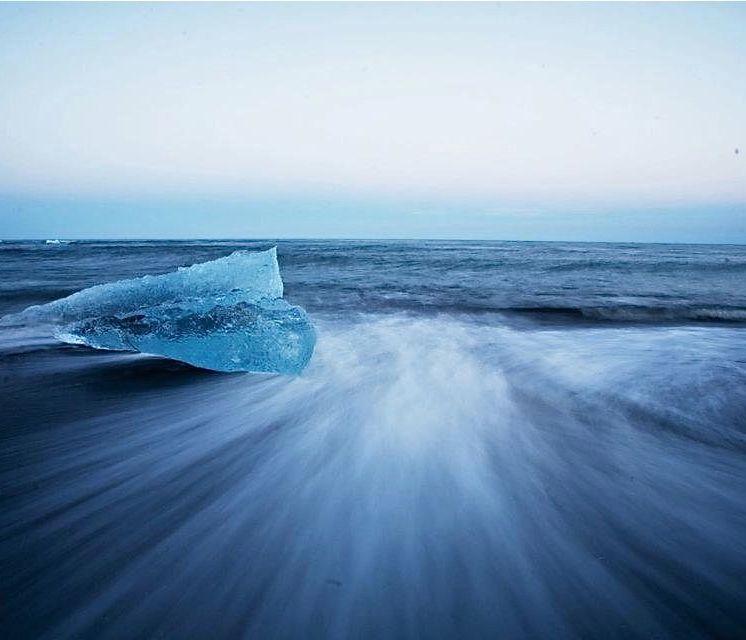 Waves, Jökullsarlon.