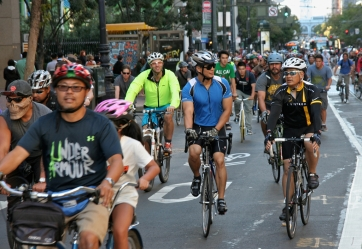 San Francisco Critical Mass Aug 30 2013. Photo: Miikka Järvinen