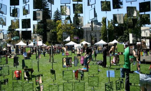 Berkeley Spark Festival 2013, Civic Center Park, Berkeley, CA.