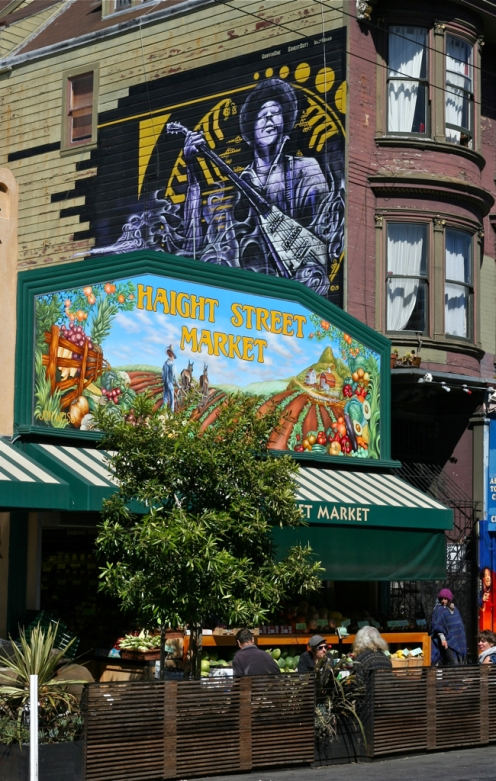 House of Jimi Hendrix and Haight Street Market.