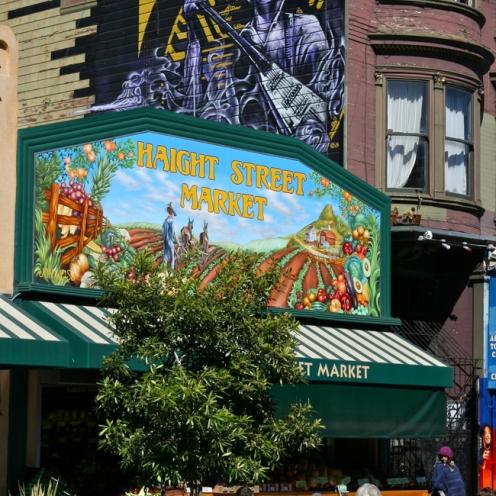 House of Jimi Hendrix and Haight Street Market.