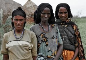 Oromo Women, Melka Oda village, Oromiya, Ethiopia.