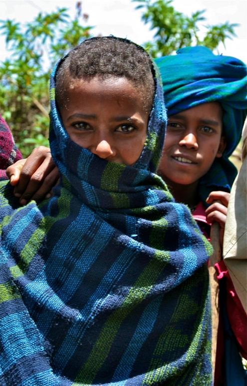Washa village, Amhara, Ethiopia.