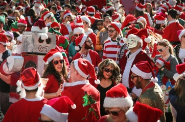 SantaCon 2013 San Francisco