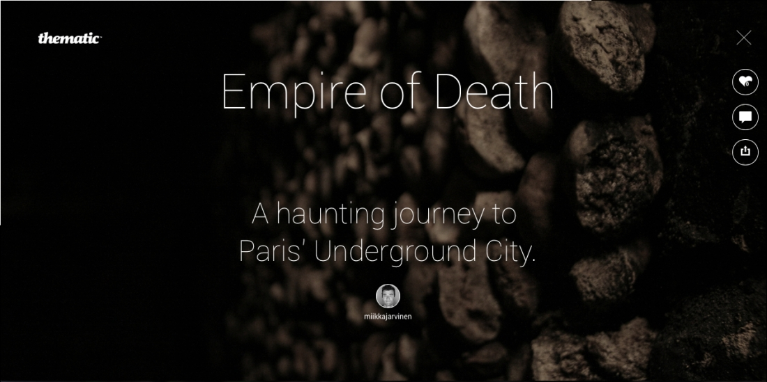 A haunting journey to Pari's Underground City