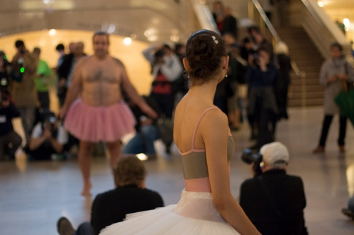The Tutu Project at Grand Central NYC.