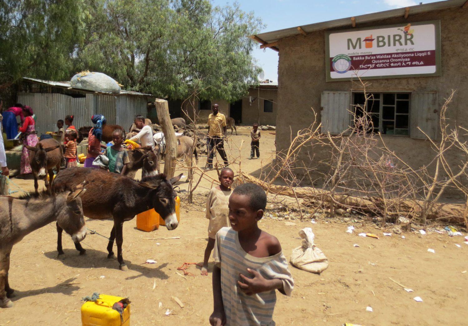 Vain joka neljännellä etiopialaisella on pankkitili.